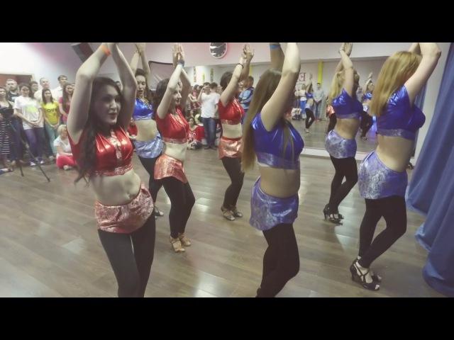 Kizomba lady style Oriental choreo by Marina Tarasova Ufa
