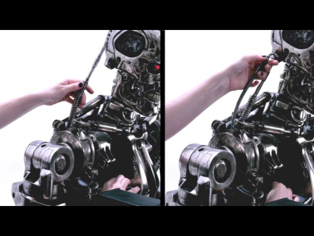 Sideshows life-size Endoskeleton T-800 assembly video