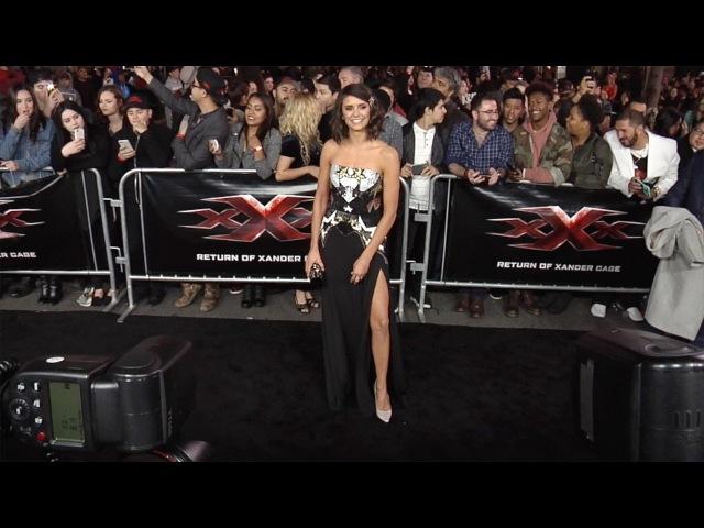 Nina Dobrev xXx: Return of Xander Cage Los Angeles Premiere