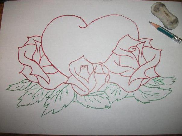 Рисунки карандашом для мамы легкие