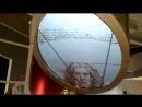 Демонстрация видеоэкрана в Музее Бронетанковой техники в Прохоровке Экран круглой формы Диаметр Экрана 2 метра высота подвесн