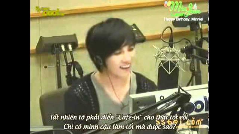 [Minnie Bday PJ][Vietsub] SS501 MinJun- Narsha Volume up radio
