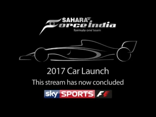 - Sahara Force India Formula One Team VJM10 launch 360p