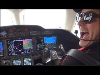Watch Me Fly the $5 Million HondaJet Including Tips & Tricks