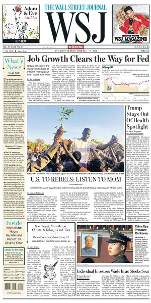 The Wall Street Journal March 11 2017 FreeMags