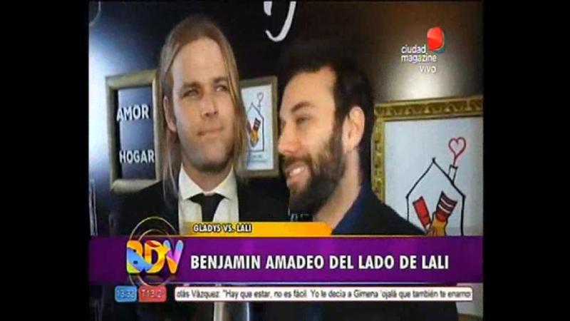 Benjamin Amadeo hablo de su ex novia Lali Esposito BDV 09 06 2017 Benjali