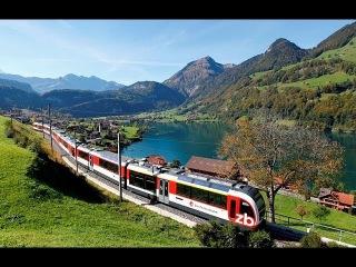 По Швейцарии ч.9  дорога Интерлакен-Люцерн