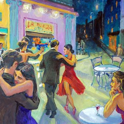Кафе танцы в картинках