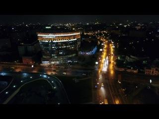 Олимпийский, Московская Соборная Мечеть, Проспект Мира с квадрокоптера
