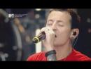 Группа Linkin Park дала бесплатный концерт на Васильевском Спуске в Москве 23 06 11года