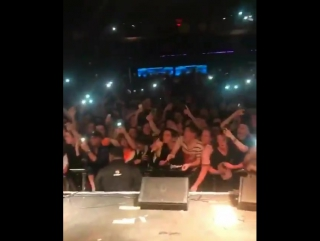 Lil yachty and the squad went crowd surfing at this show!