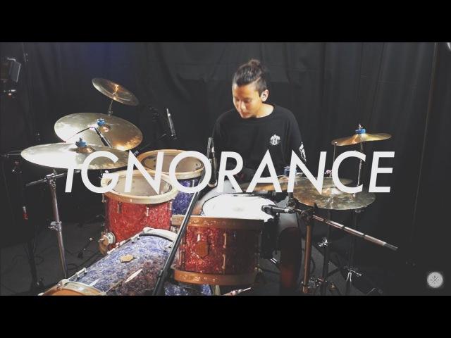 Ignorance Paramore Drum Cover SJC DRUMS