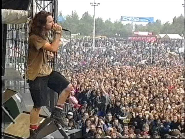PEARL JAM PINKPOP 1992