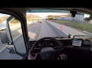 Volvo FH 540 2017, Relaxing Highway Driving in the Sunset