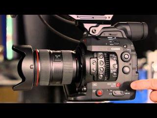 Обзор видеокамеры Canon C300 Mark II часть 2