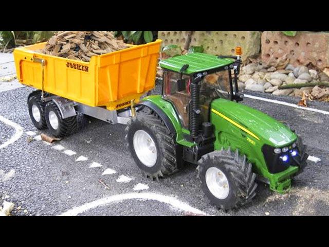 Traktor Kreskówki Pracowity Traktorki i inne Samochody Bajki dla dzieci po polsku