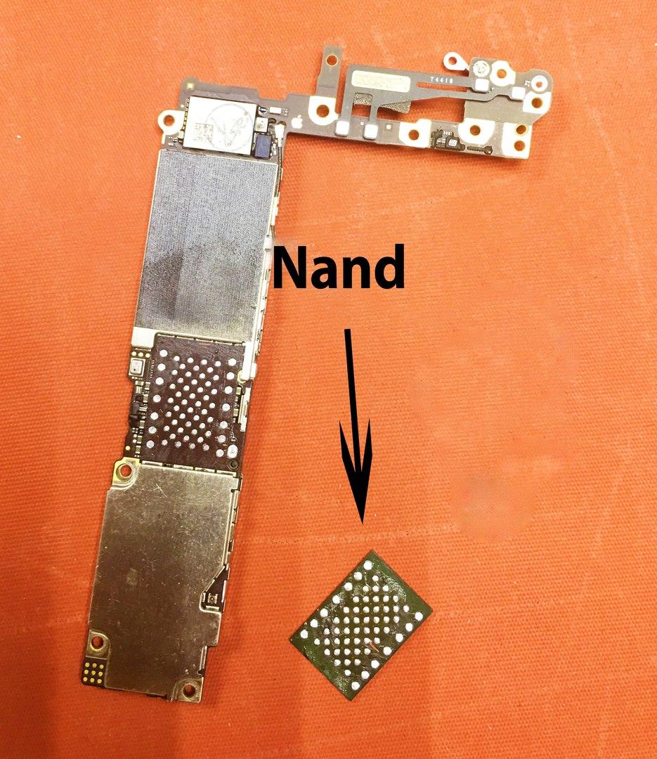 увеличение памяти iphone 7