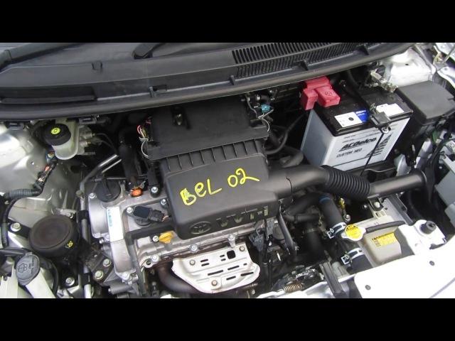 Запуск ДВС 2SZ FE Toyota Belta SCP92 Bel01