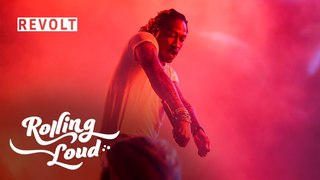Future performs 'New Bugatti' and the crowd goes crazy   Rolling Loud