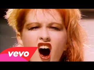 Cyndi lauper girls just want to have fun (1983) клип. музыка 80-х