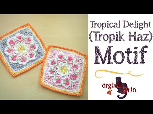 Tropik Haz Tropical Delight Motif Battaniye Motifleri