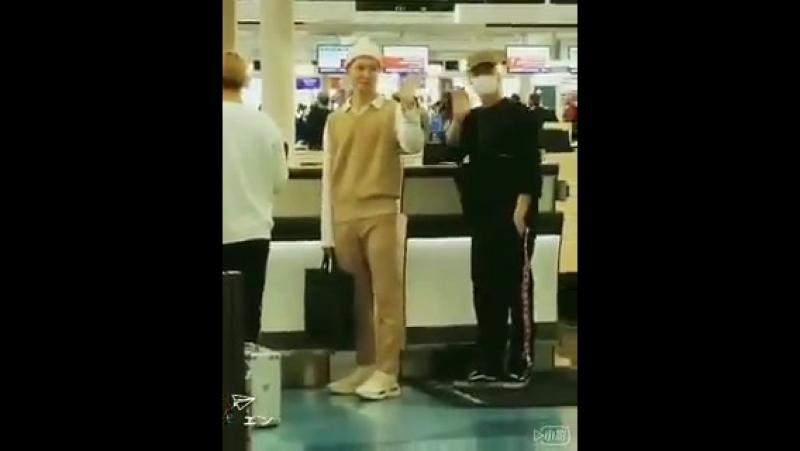 180501 羽田空港出国 CROSSGENE サンミン セヨン ヨンソク