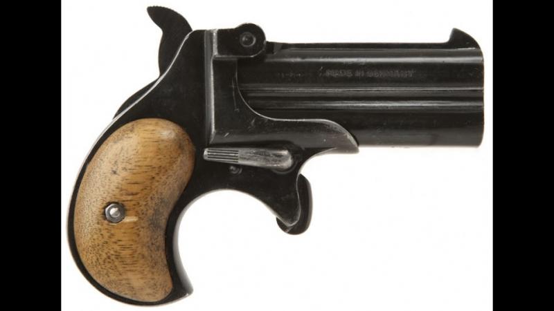 Карманный пистолет Дерринджер ч 2 Распаковка и обзор