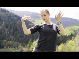 Светлана Булаш - спонтанный перфоманс на семинаре Tribal Drum