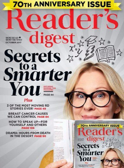Readers Digest Canada October 2017