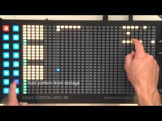 Misa Digital NSC-32 Basic Functions