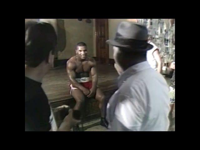 Iron Mike Tyson A Day in Catskill Cus D'amato Boxing Gym 1986