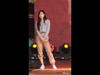 171028 BLACKPINK - STAY (Rose focused rehearsal) @ Pyeongchang Music Festa