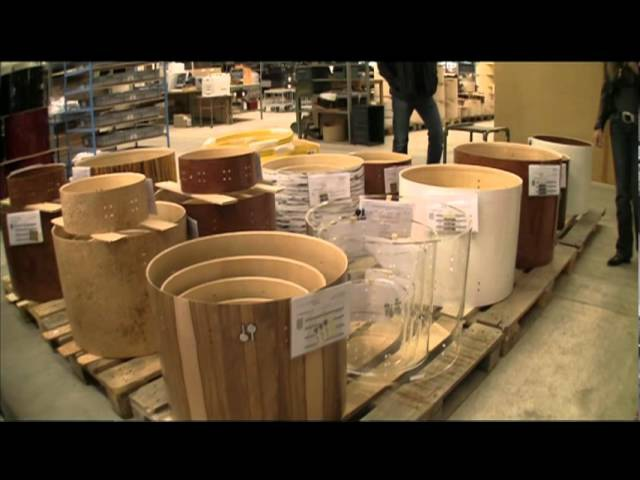 Sonor Factory Tour Part 2 29 July 2011