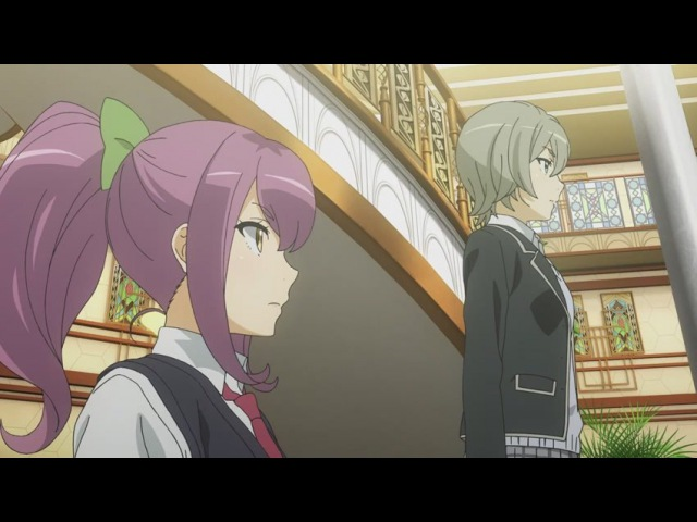 DA AniDub 8 08 серия Schoolgirl Strikers Школьницы Искатели Ancord Jade Oriko
