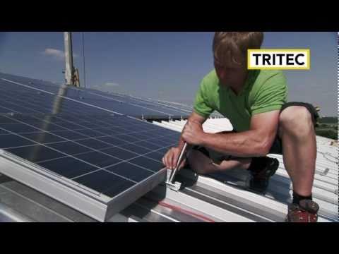 TRI-VENT: Système de montage pour panneaux PV (TRITEC)