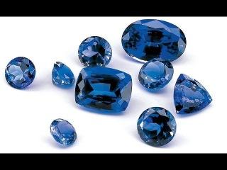 Драгоценный камень Синий Сапфир определение подлинности и природы драгоценного камня