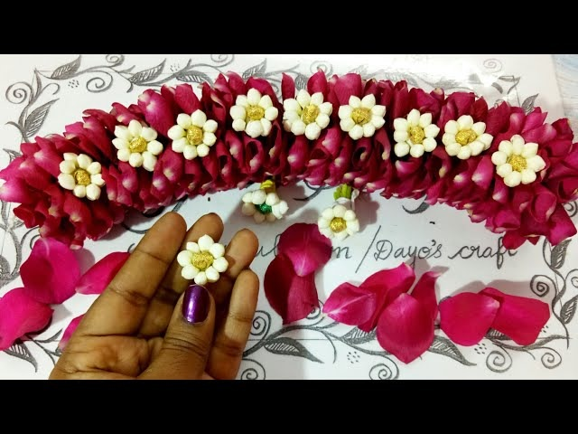 Version 2 🌹 Petals with Jasmine Jadai venni making