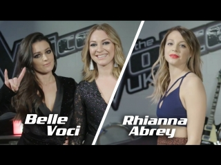 Team JHud Interview: Belle Voci & Rhianna Abrey (The Voice UK 2018)