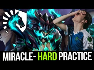 Miracle- OD Try Hard Practice Hard Carry New Liquid Weapon? - Dota 2