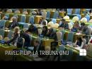 Discursul premierului Filip de la tribuna ONU Moldova solicită înscrierea în agenda Adunării Generale a unui punct privind retr
