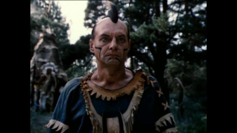 Зверобой (1990) Схватка Чингачгука с Терновым Шипом