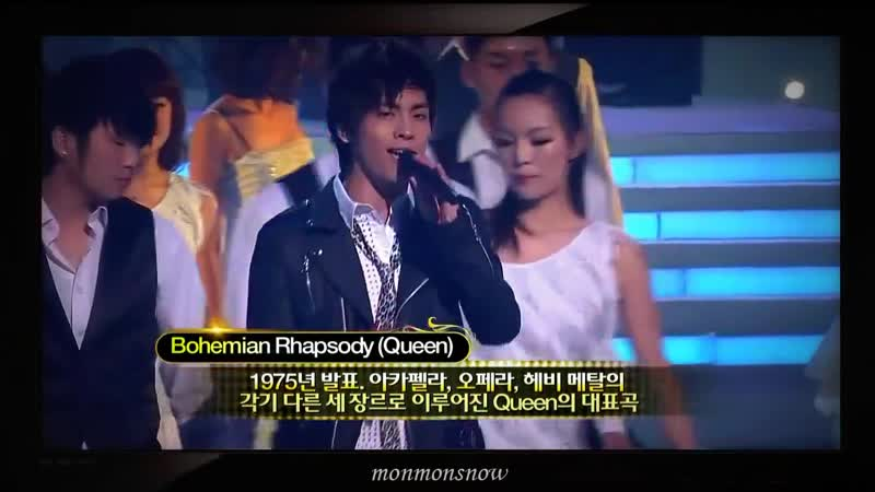 (101230) B2ST, 2PM, 2AM and Shinee with song Its my life Bohemian Rhapsody