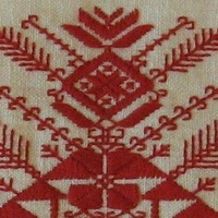 Русская традиционная вышивка.