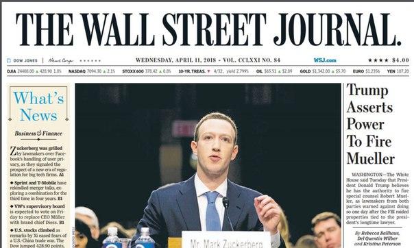 The Wall Street Journal 20180411