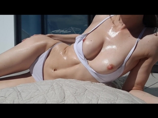 Missalice_94 oiled up sunbathing and flashing | webcam | miss alice мисс алиса