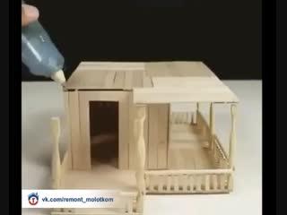 Сборка домика - интересное хобби