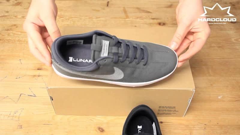 Мужская обувь для скейтбординга Nike SB Portmore II Solarsoft Slip on Черные