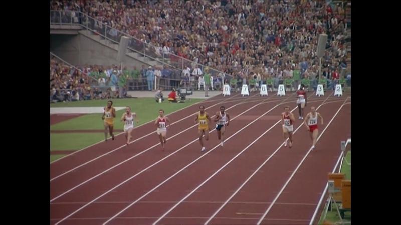 Первая и крайне принципиальная победа советского 22 х летнего спринтера Валерия Борзова на Олимпиаде в Мюнхене 1972 года