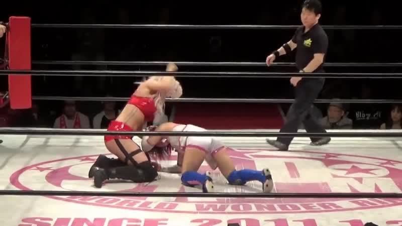 3. Chardonnay Scarlett vs. Hiromi Mimura Konami