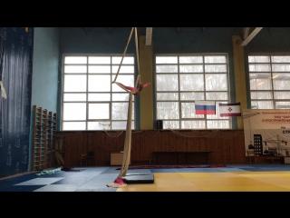 Устимова София, воздушное полотно, дети